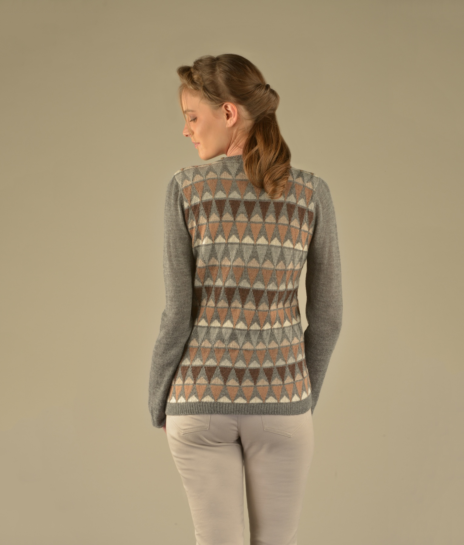 CONES UP & DOWN PULLOVER C001