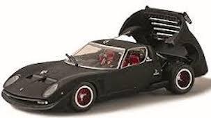 Kyosho 03201mbk 1 43 Lamborghini Jota Svr Matte Black Bay Hobby
