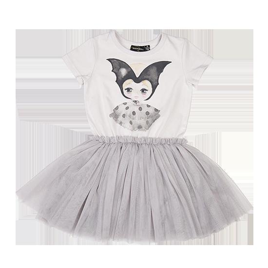 3644c8995d34 BAT GIRL SS CIRCUS DRESS LIGHT GREY   Girls   Blues Child