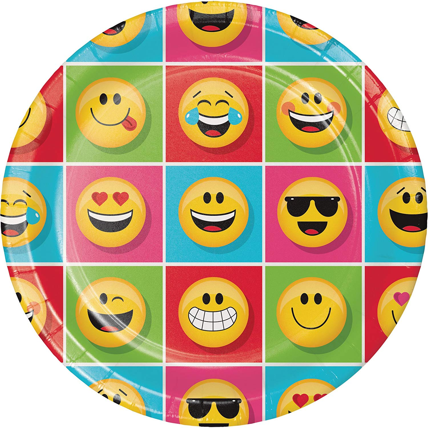 SHOW YOUR EMOJIONS DINNER PLATES