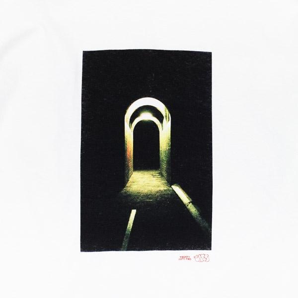 I'll Be Back Tunnel Photo Tshirt White