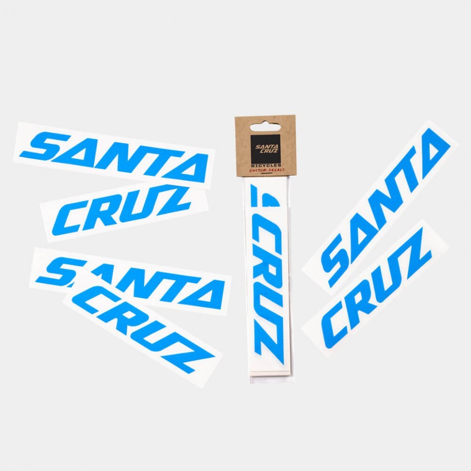 Santa cruz custom downtube decal sticker fortheriders