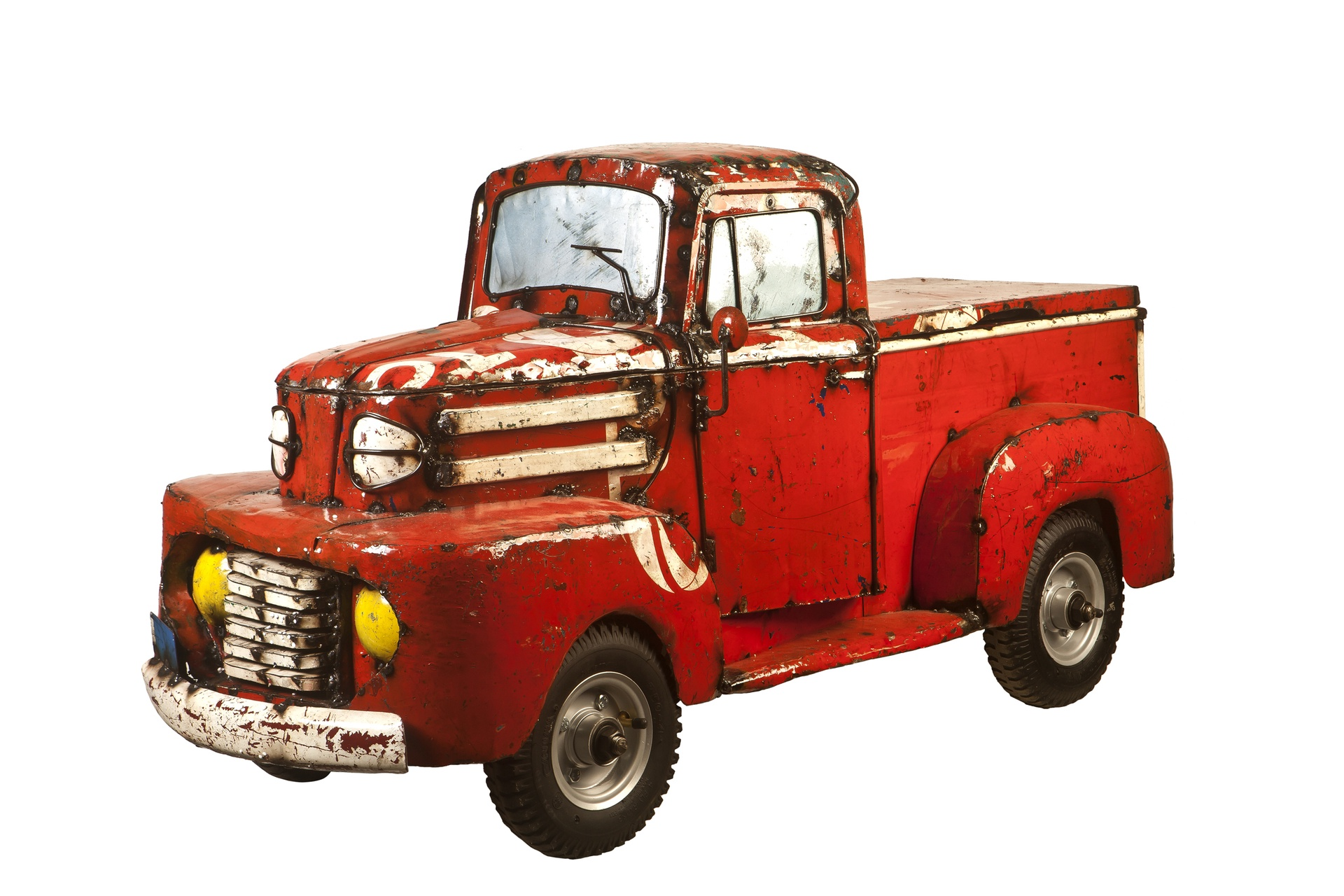 Pick Up Truck Cooler Red The Aaron Jackson Collection