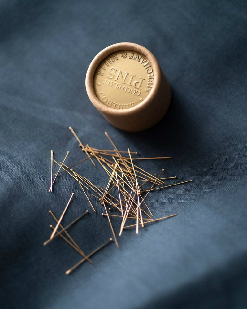 Gold Dressmaking Pins