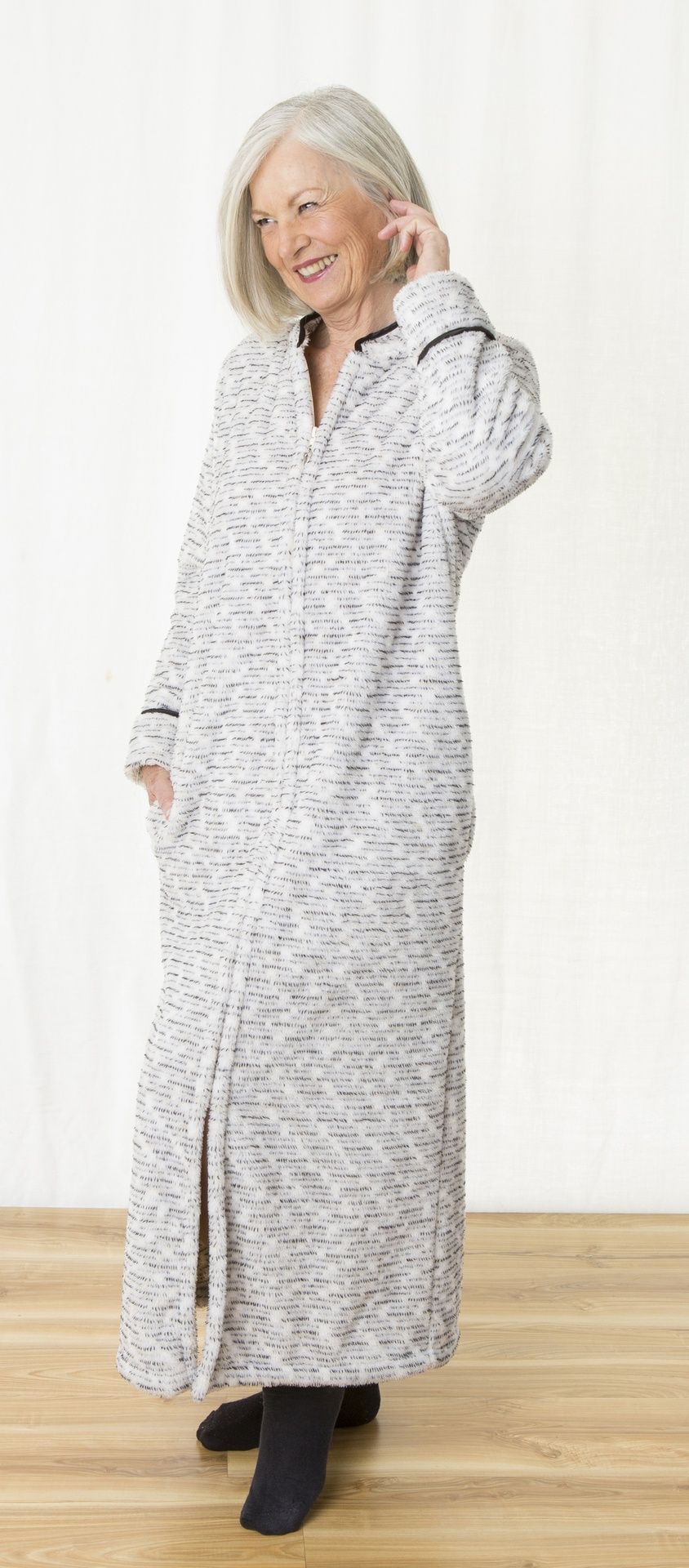 7c0317cdbc Plush Dressing Gown