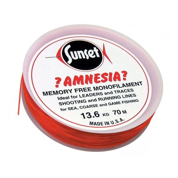 Memory Free Monofilament Fishing Line Red,Sunset ?Amnesia?