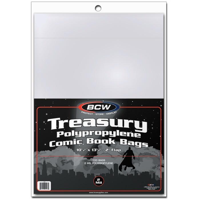 BCW Treasury Bags 100 Pack