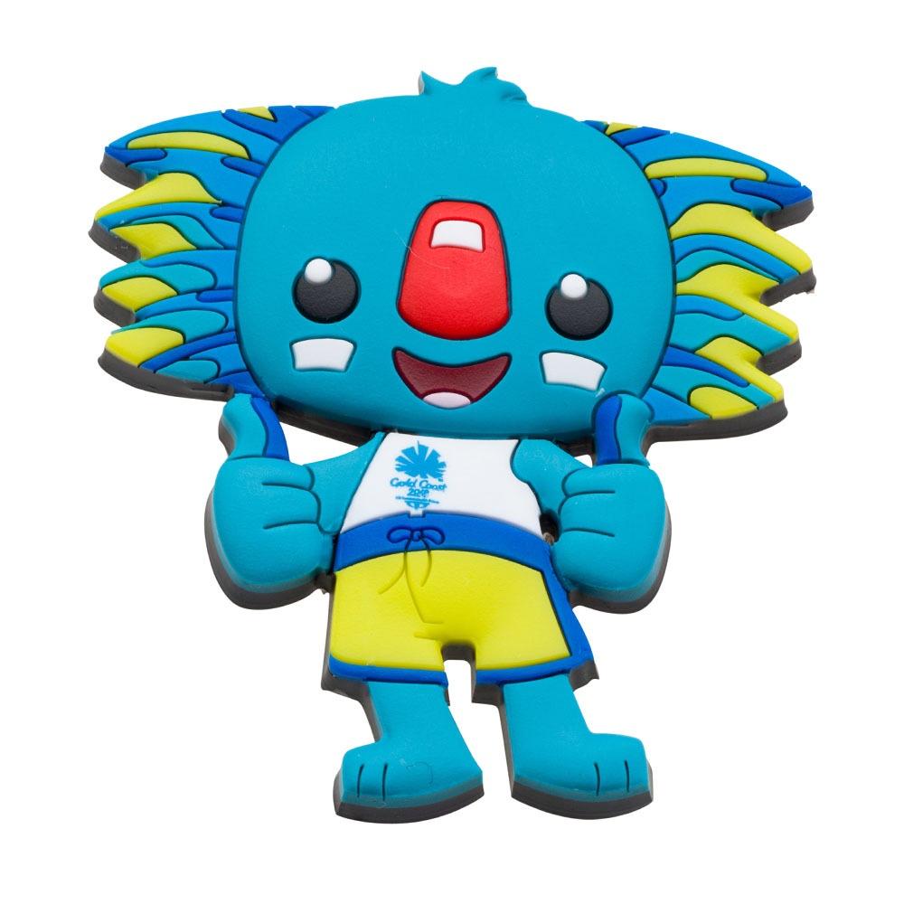 Borobi Mascot 3D PVC Pin