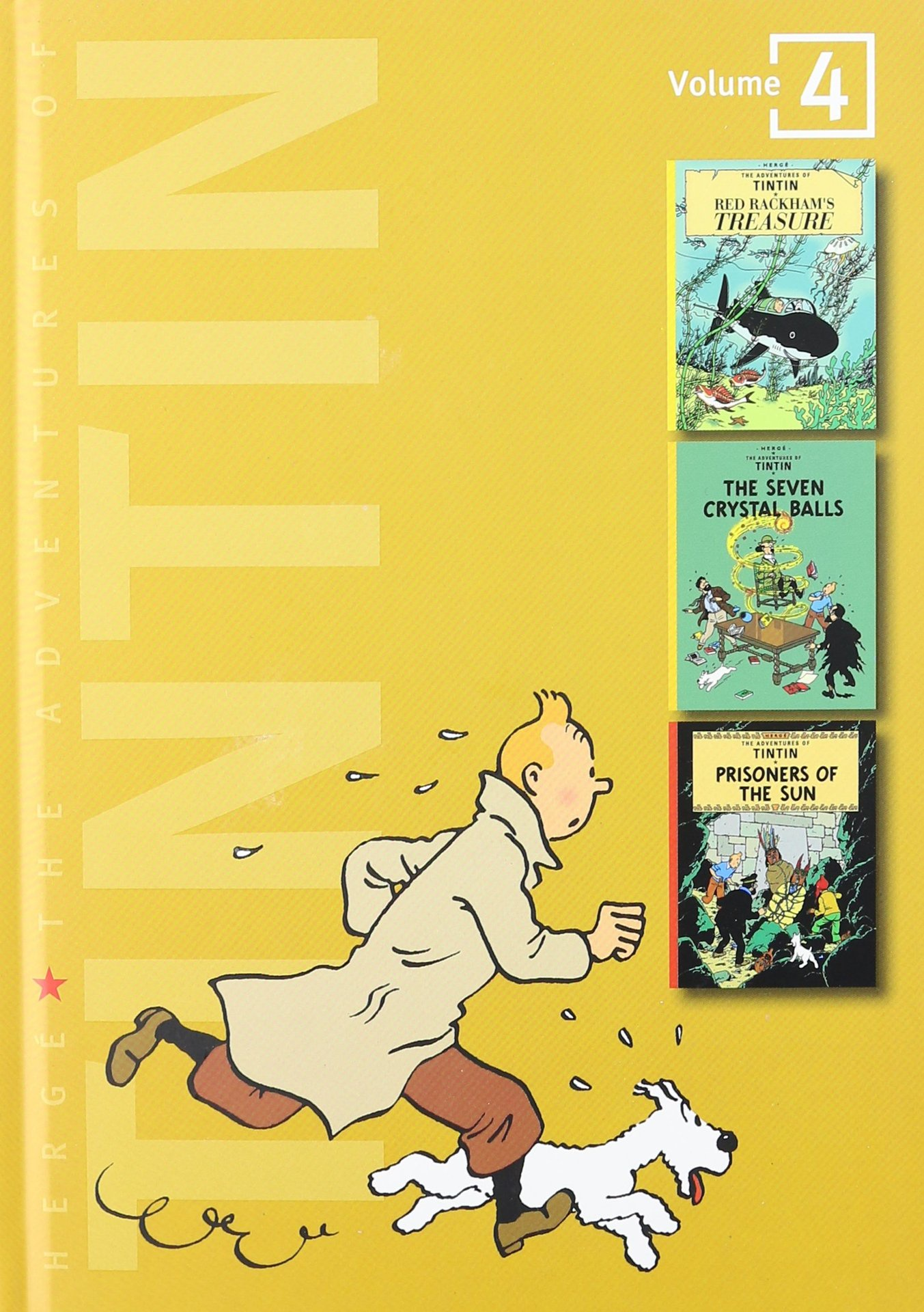 Adv of Tintin 3-In-1 Ed HC Vol 04