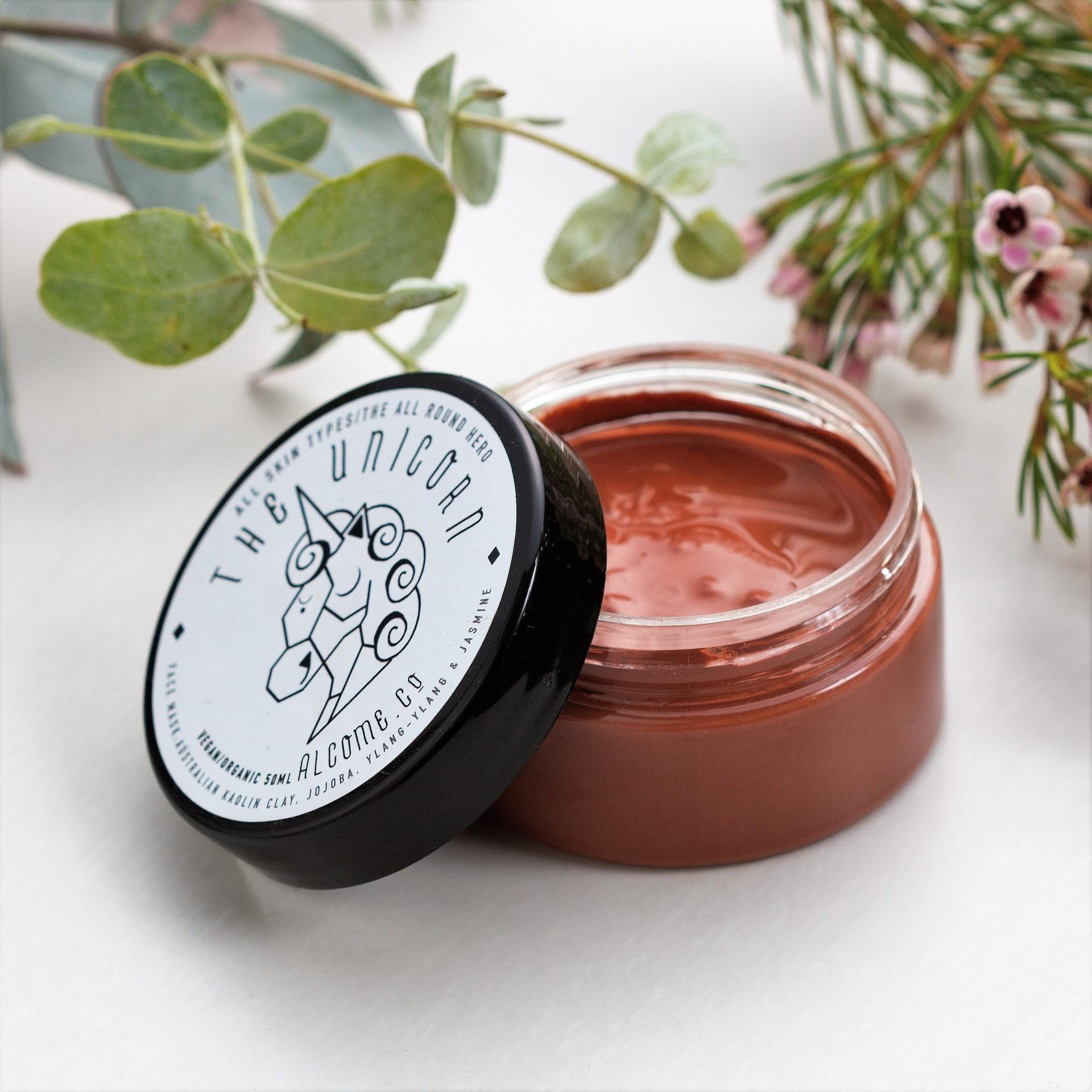 Luxe Clay Mask / Skin Brightening Facemask / Vegan Organic Natural / All Skin Types
