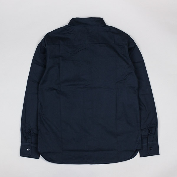 Pass~Port Workers Mid-weight LS Shirt Navy
