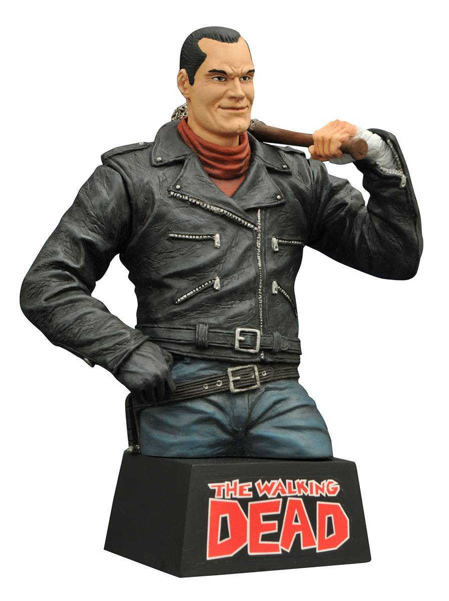 Walking Dead Bust Bank Negan