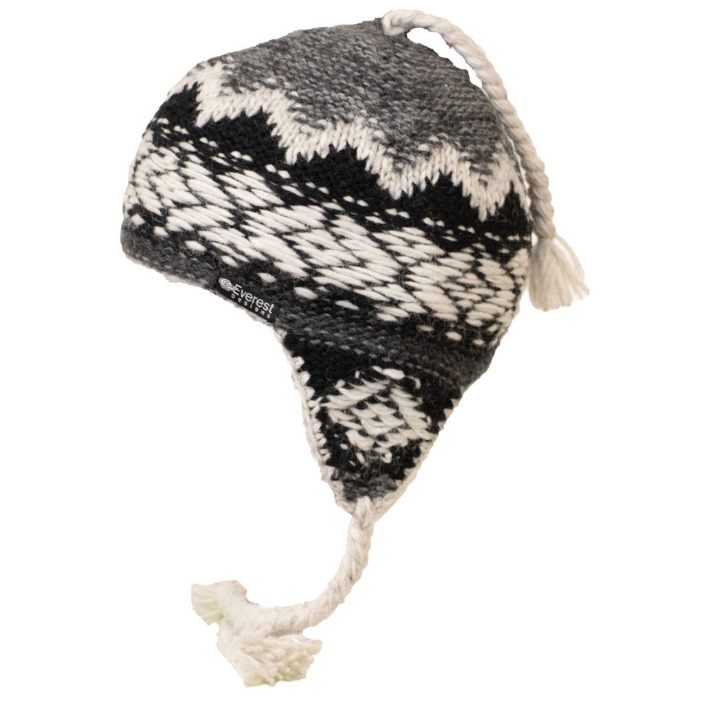 e90603901 Everest Designs Inca Earflap Hat - Charcoal