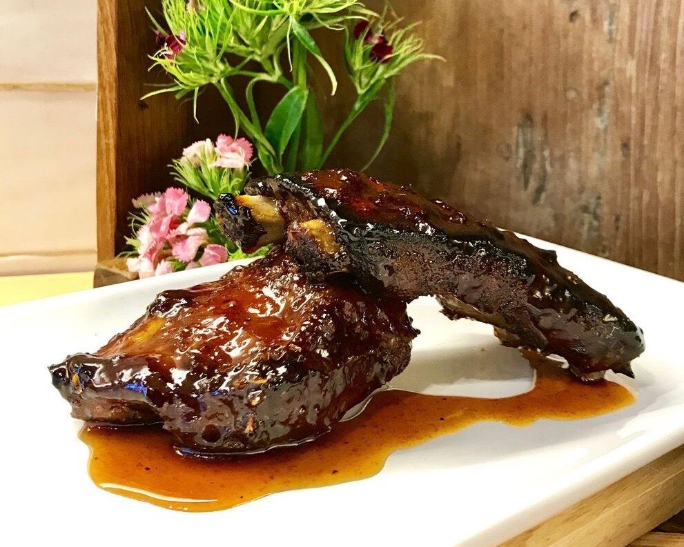Sous vide BBQ Pork Ribs 慢煮燒烤排骨