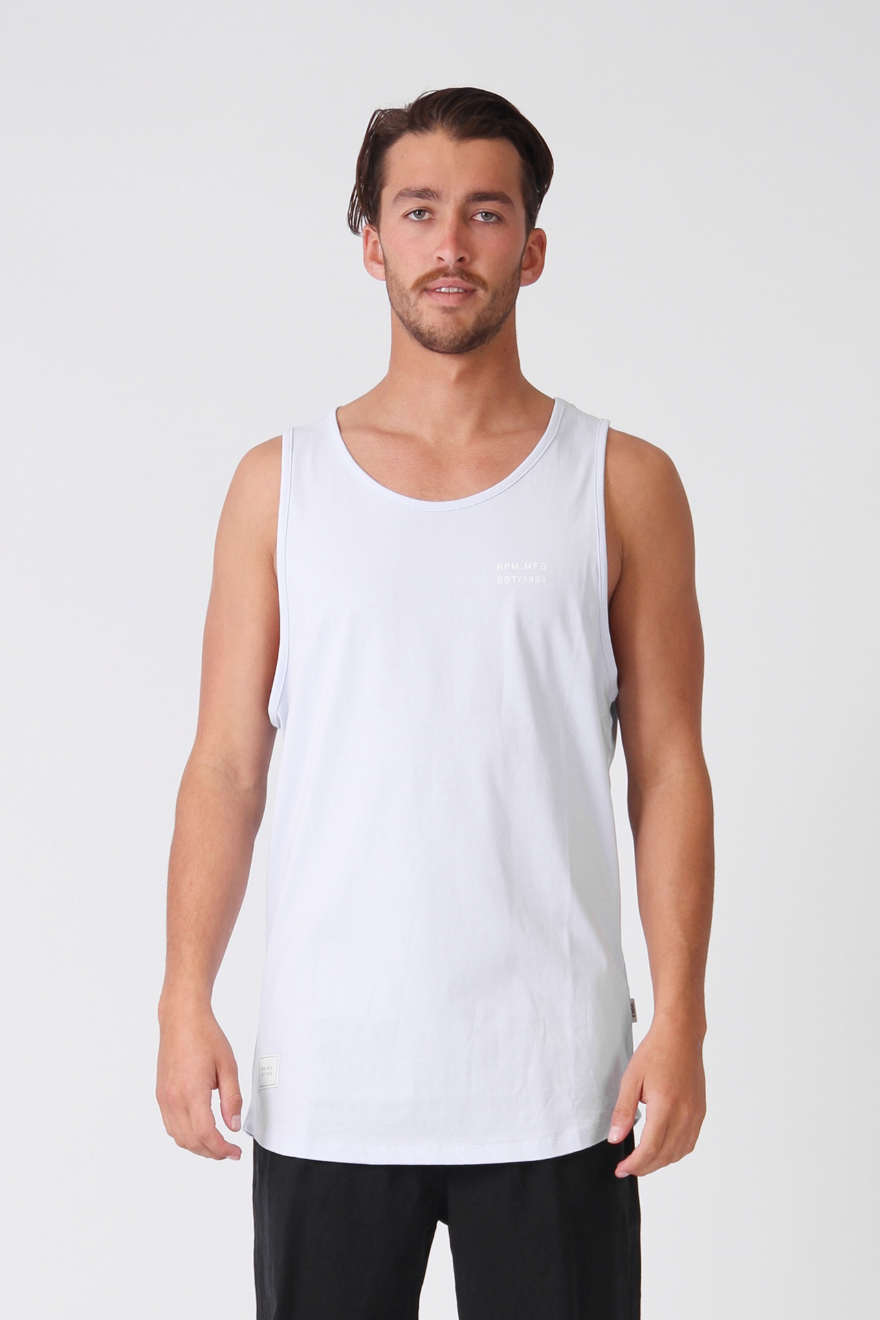 c816195e0f7996 RPM Stock Singlet - Pale Blue - Out There Surf