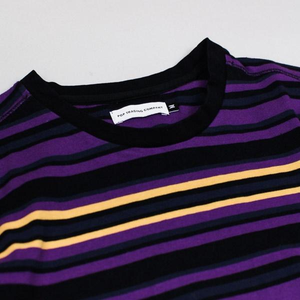 Pop Trading Company Nagel Stripe LS Tshirt