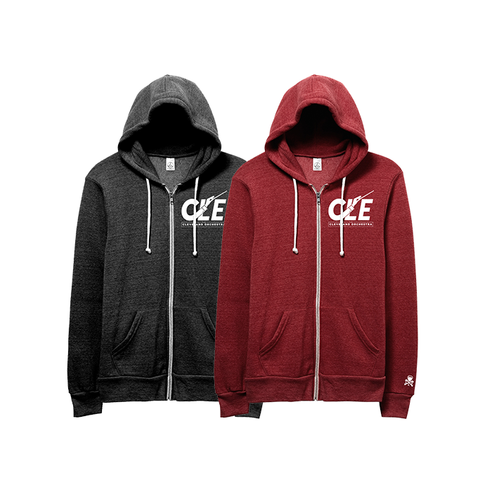 Cleveland Orchestra CLE Zip-Up Sweatshirt