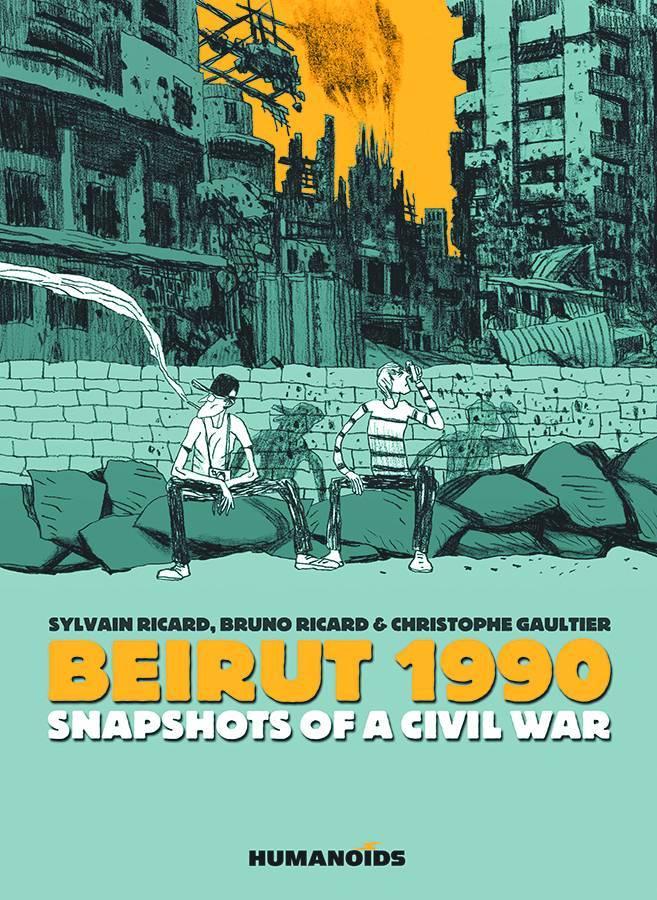 Beirut 1990 Snapshots of A Civil War HC