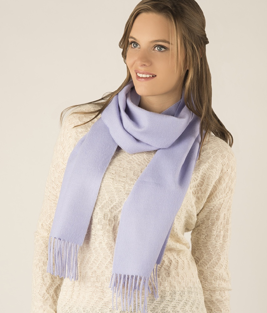 Long brushed scarf AZ13492