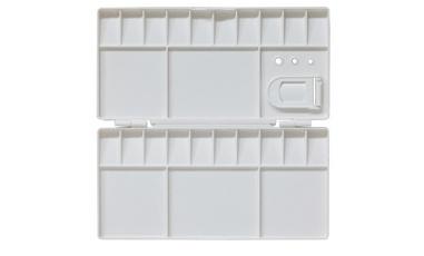 Plastic Folding Palette 25 Well 20x10cm