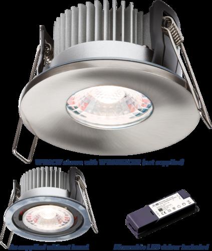 PROKNIGHT LED IP65 8W Fire-Rated Downlight 4000K