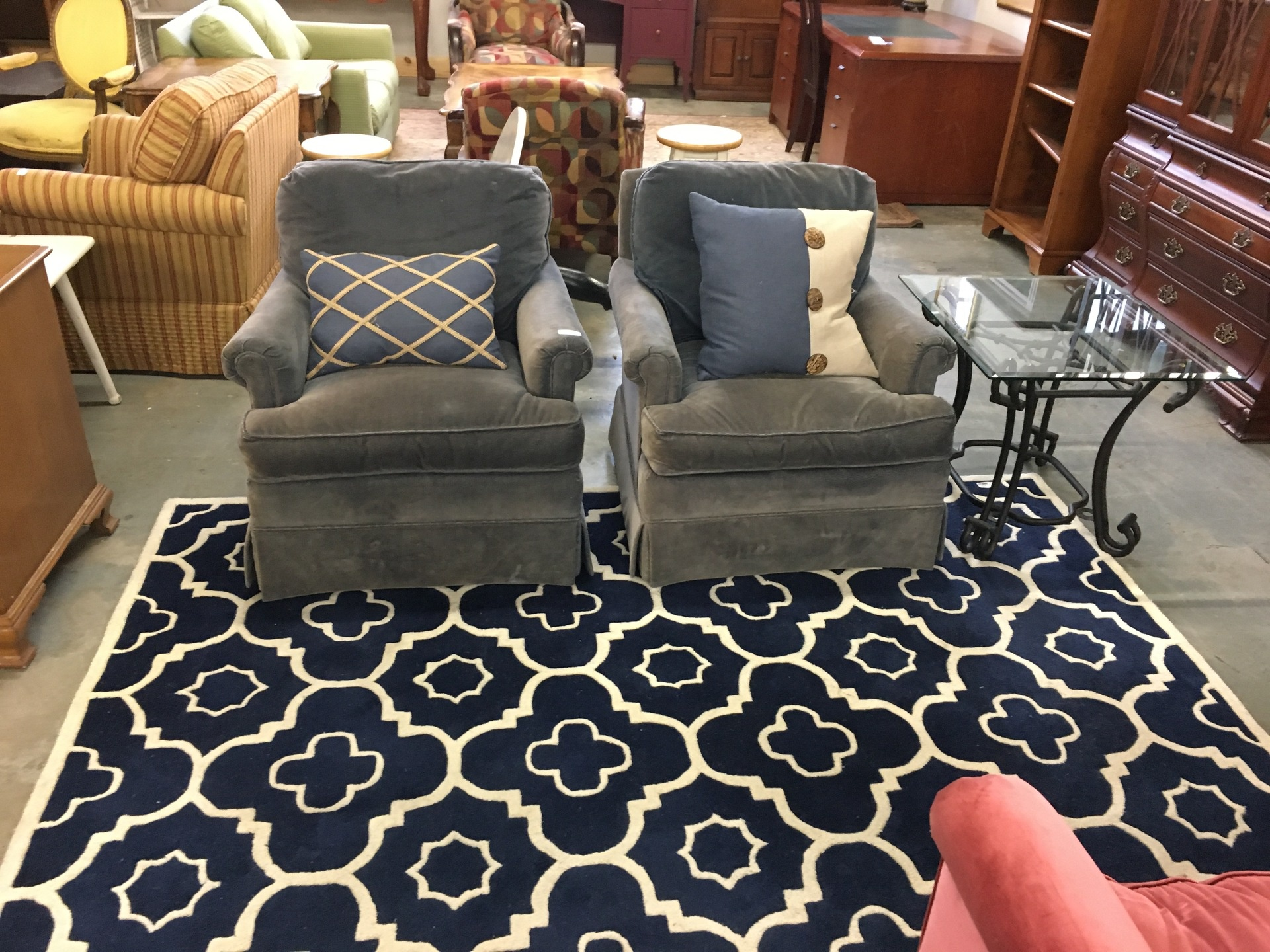 Club chair set