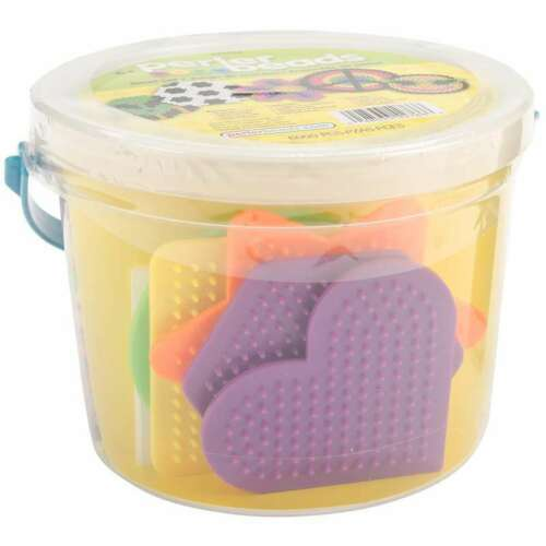 PERLER FUN FUSION FUSED BEAD BUCKET