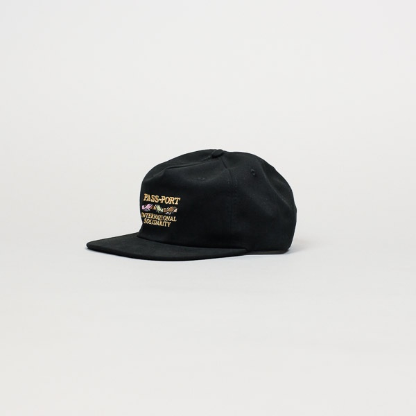 Pass~Port Inter Solid Cap Black
