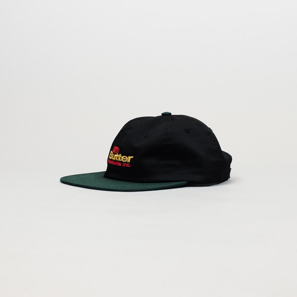 Butter Goods Incorporated 6 Panel Hat Black