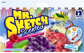X SL 055200720 MR. SKETCH SCENTED MARKERS 12 CT