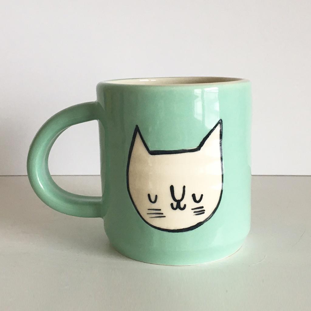 Large Cat Mug