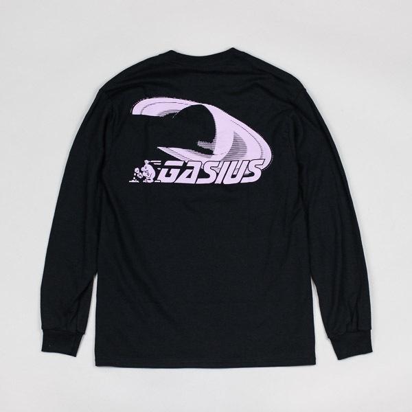 Gasius Saturn LS Tshirt Black