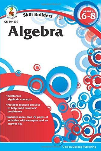 CD 104399 SKILL BUILDERS ALGEBRA (6-8)