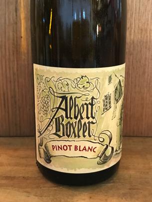 Albert Boxler Pinot Blanc