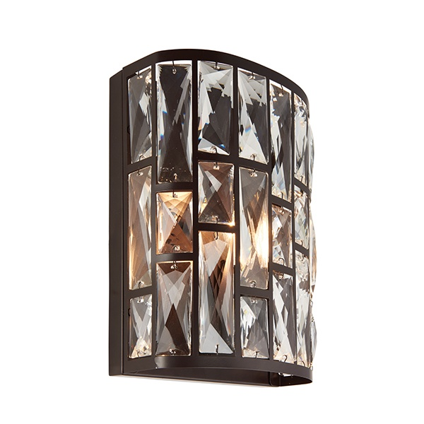 Belle 1lt wall 40W - dark bronze