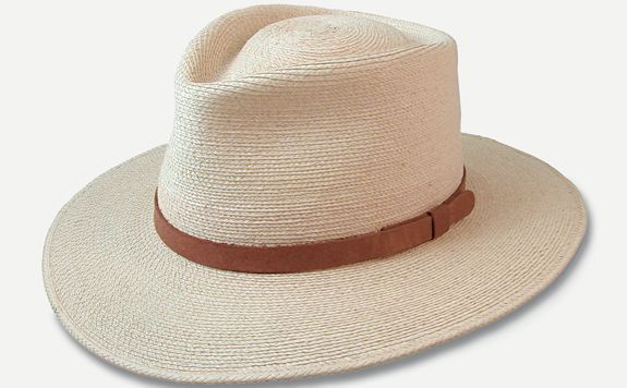 Sunbody Tear Drop Fedora Palm Leaf Hat  003fe7c20e