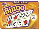 X T 6070 SUBTRACTION BINGO