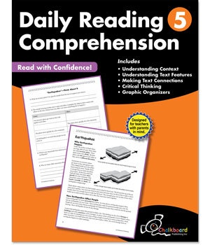 CTP 8185 DAILY READING COMPREHENSION GR.5