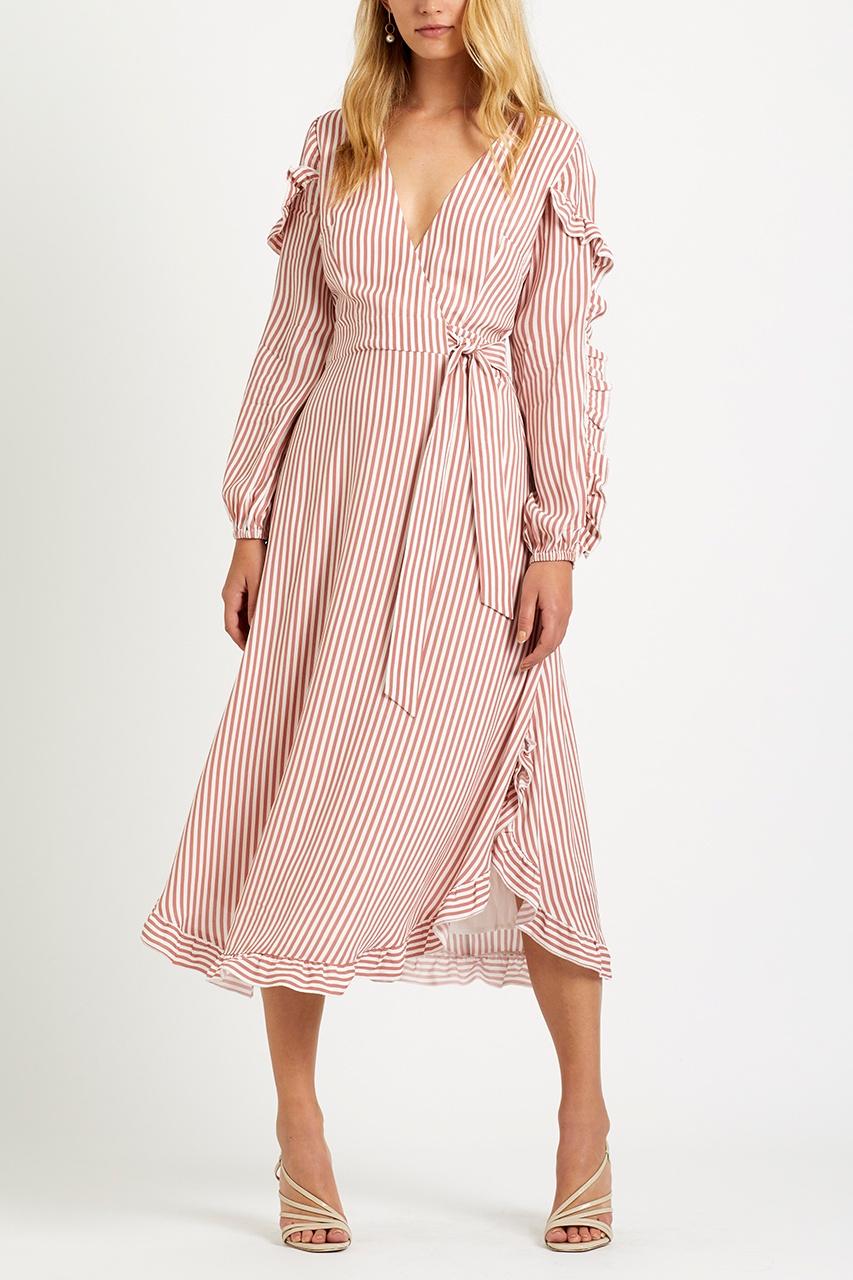 Steele Marmont Wrap Dress