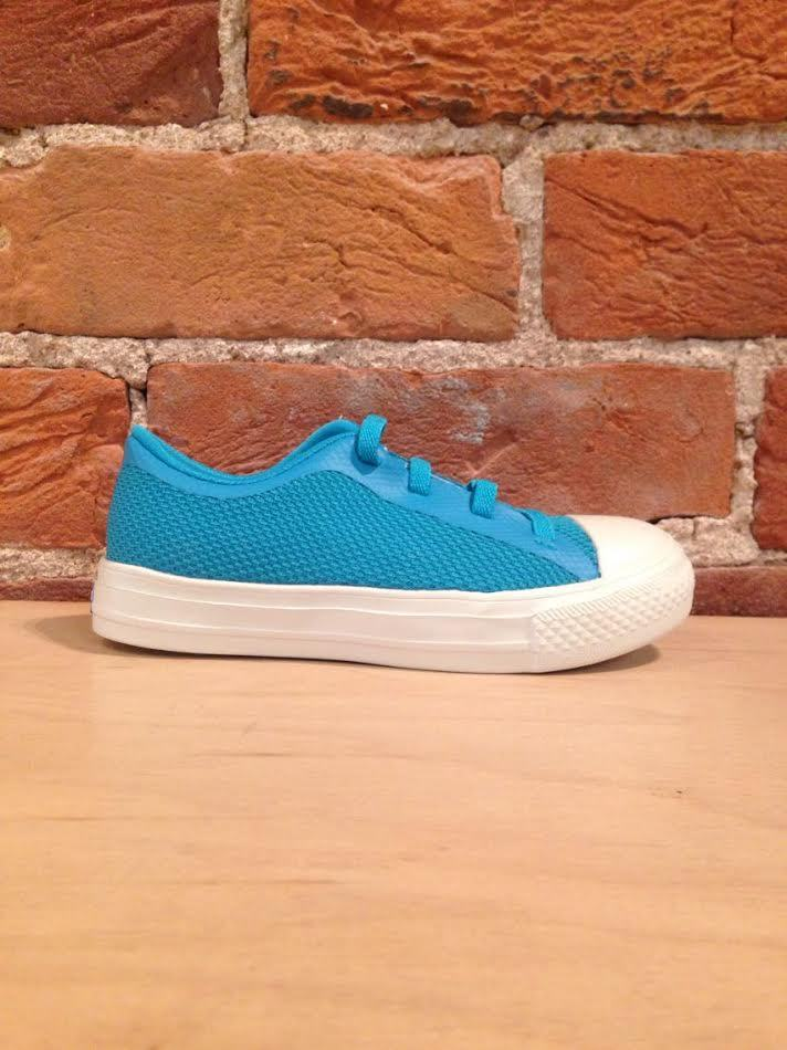 PEOPLE FOOTWEAR - THE PHILLIPS JUNIOR IN TROPICANA BLUE/PICKET WHITE