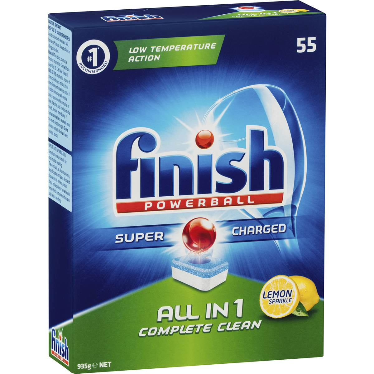 Finish Powerball Dishwashing Tablets 935g 55pk