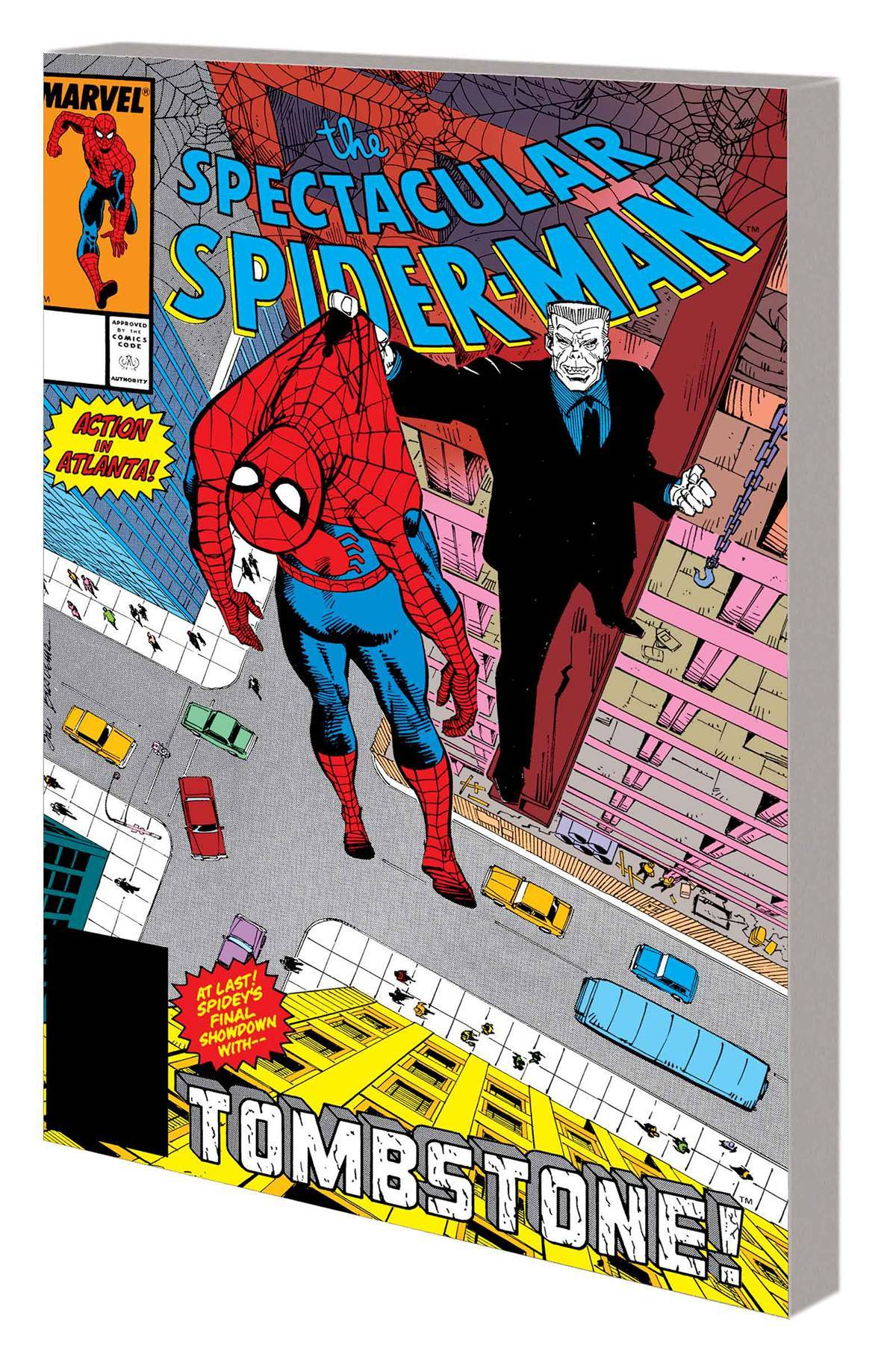 Spider-Man Vol 01 Tombstone