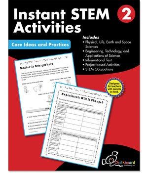 CTP 8194 INSTANT STEM ACTIVITIES GR. 2