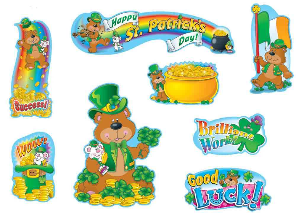 CD 110059 ST. PATRICK'S DAY MINI BBS
