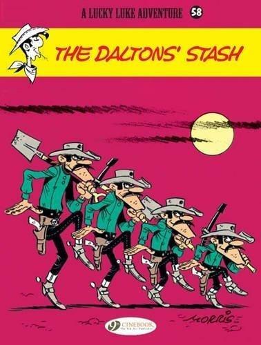 Lucky Luke Adventure #58: The Daltons Stash