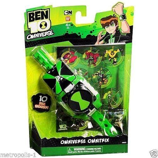 BEN 10 OMNITRIX DISC SHOOTER