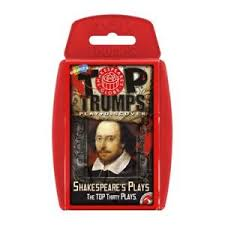 TOP TRUMPS SHAKESPEARE'S PLAYS