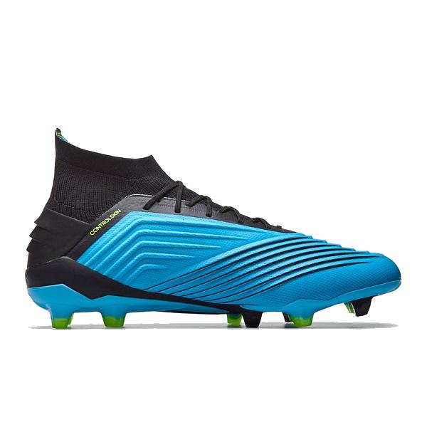 adidas Predator 19.1 FG Bright Cyan/Core Black/Solar Yellow