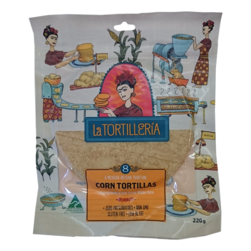 La Tortilleria - Corn Tortillas Stoneground 220gm