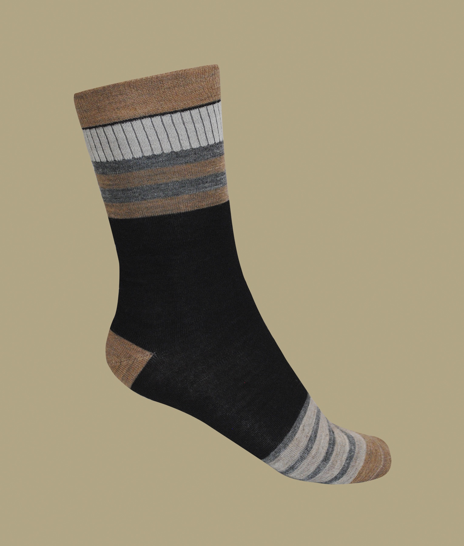 MULTI STRIPES WOMEN SOCKS C003